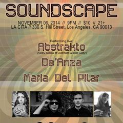 ABSTRAKTO, DE'ANZA AND MARIA DEL PILAR AT SOUNDSCAPE LATIN EDITION