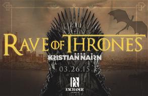 Rave Of Thrones at Exchange LA Gypset Magazine