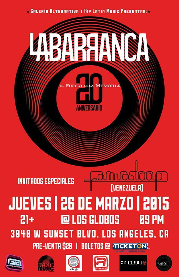 Famasloop Showcase with La Barranca