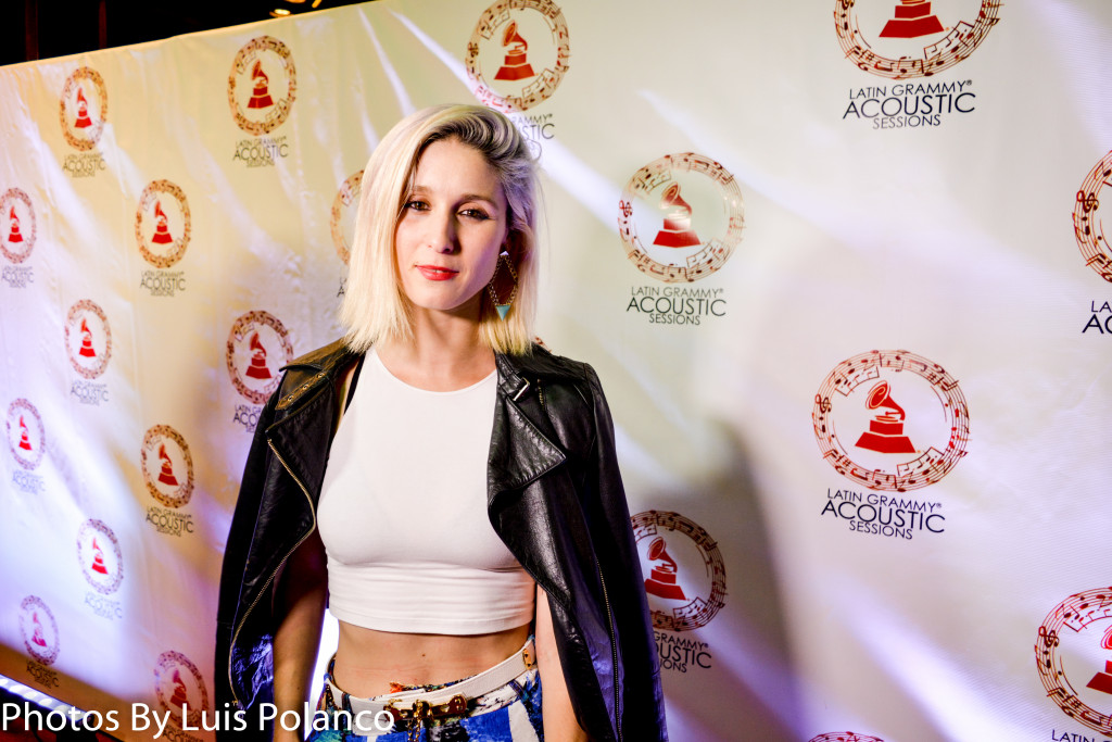 Latin GRAMMYs Acoustic Natalia La Forcade Julieta Venegas Red Carpet