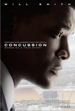 CONCUSSION OPENS CHRISTMAS DAY