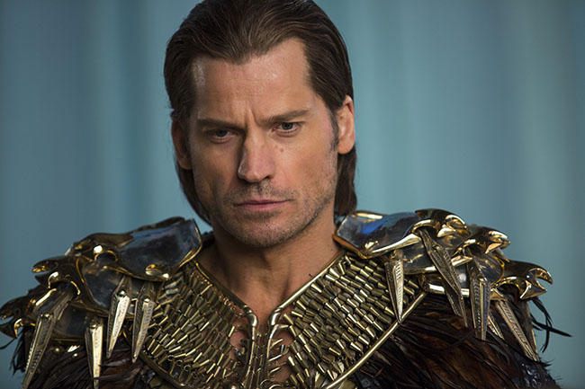 Nikolaj Coster-Waldau stars as 'Horus' in GODS OF EGYPT. Photo Credit: Lisa Tomasetti