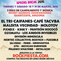 Rock Fiesta® The Greatest Latino Rock Line Up in History!