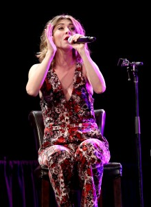 """""""ANAHEIM, CA - JANUARY 22:  Singer Amy Heidemann performs on stage at the She Rocks Awards during day 2 of the 2016 NAMM Show at the Anaheim Hilton on January 22, 2016 in Anaheim, California.  (Photo by Jesse Grant/Getty Images for NAMM)"""""""