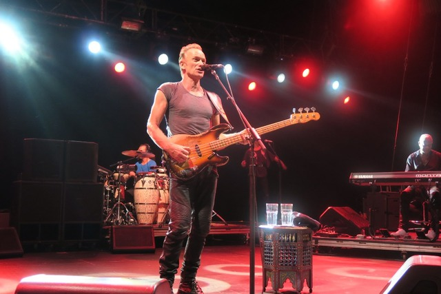 Sting at Summer 2016 European Tour Photo by Andrzej Strzelczyk