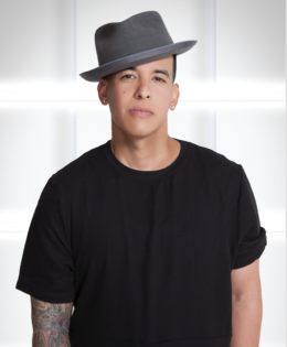 """Daddy Yankee at Billboard Latin Music Awards stage for the worldwide television premiere of the smash hit """"Despacito"""""""