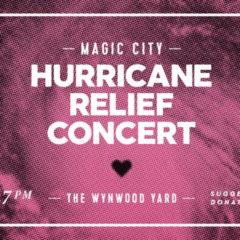 Hurricane Relief Concert – 7pm Tonight Miami
