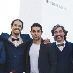 Wilmer Valderrama Celebrates New American Citizens at Johnnie Walker's Portrait Studio