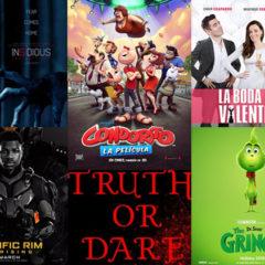 Estrenos de películas que no te puedes perder en el 2018