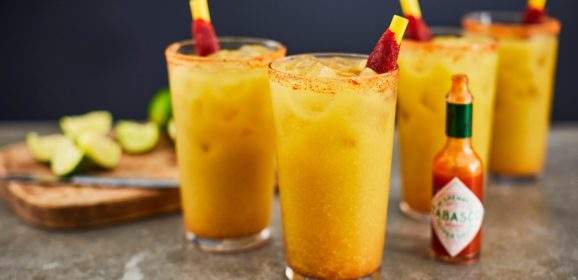 """Spike Up Your """"Big Game"""" Menu With This Tomatillo Michelada"""