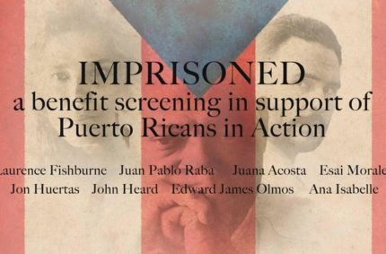 Imprisoned Celebrity Benefit Screening hosted by Esai Morales and Lisa Vidal