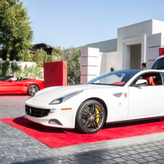 A Fashionable High Tea Affair with Ferrari  Rocks Beverly Hills