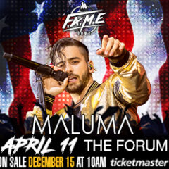 Win a Pair of Tickets to Maluma FAME Tour