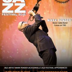 Mark Pender 2016 Jacksonville Jazz Festival