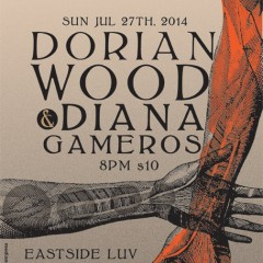 Dorian Wood and Diana Gameros show by LBE and SOL ART RADIO