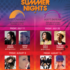BMI Presents Ceci Bastida at The Levitt Pavilion Pasadena