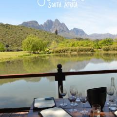 South Africa: Stellenbosch Wine Country