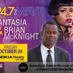 Fantasia & Brian McKnight Ticket Giveaway!