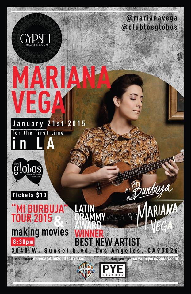 Mariana Vega #MiBurbujaTour2015 Gypset Magazine