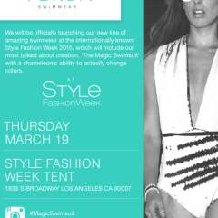 VERSA Swimwear Official Launch at Style Fashion Week 03.19.2015