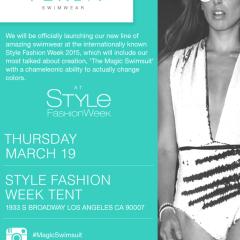 VERSA Swimwear Official Launch at Style Fashion Week 03.19.2015
