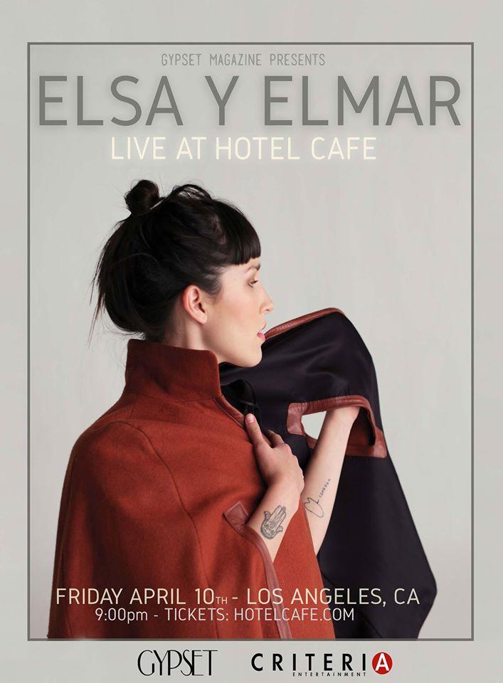 Gypset Magazine PresentaElsa Y ELmar 04.10 en The Hotel Cafe