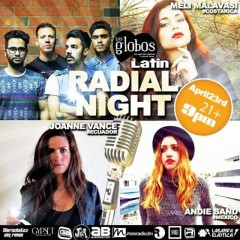 Radial, Joanne Vance, Andie Sandoval and Meli Malavasi's Acoustic show at Los Globos