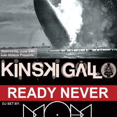 "Ready Never with Kisnki Gallo and Music Of Mars ""Rumba with Cumbia and EDM"""