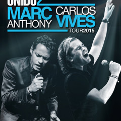 Marc Anthony and Carlos Vives Unido2 Tour 2015!