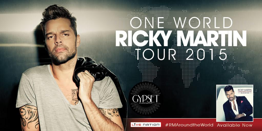 Ricky Martin World Tour 2015 / Gypset Magazine