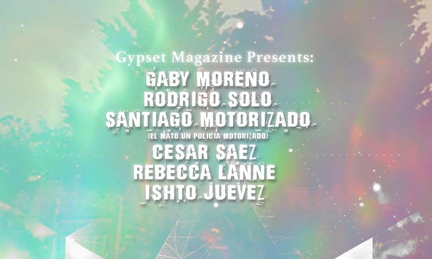 Acoustic Sessions by Gaby Moreno, Rodrigo Solo, Santiago Motorizado, Cesar Saez, Rebeca Lane, Ishto Juevez