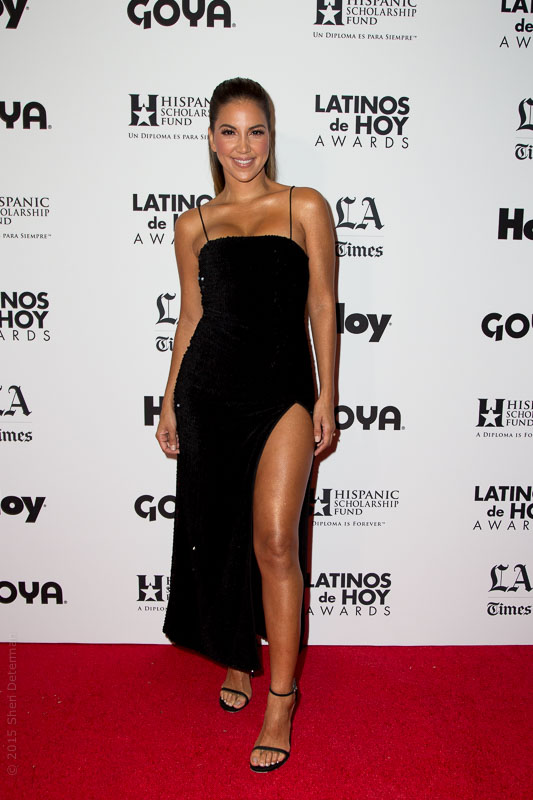Liz Hernandez | Access Hollywood, Host Latinos De Hoy 2015