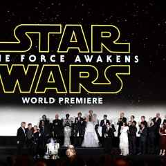 Star Wars The Force Awakens Red Carpet y World Premiere en Hollywood