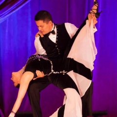 LOVE & SALSA: An evening with Mike & Christina, the Dynamic Duo of the LA Salsa scene who has kept Latin dance and music thumping in the San Fernando Valley for a decade