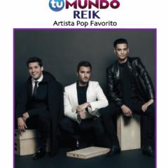 Reik Nominado En La Categoría De 'Artista Pop Favorito' En Premios Tu Mundo!