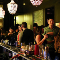 Amidst the Hustle & Bustle of DTLA, Blue J Bar and Lounge's Tuesday Latin Salsa Nights offers the Downtown Arts District a New Trendy Weeknight Hot Spot