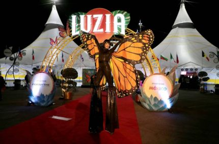 Cirque du Soleil's astounding production LUZIA opened in Los Angeles yesterday in front of a star-studded crowd!