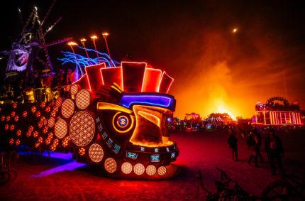 Iconic Burning Man Art Car Mayan Warrior To Make West Coast Debut In Los Angeles