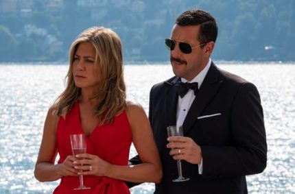 Adam Sandler & Jennifer Aniston are back in action in the official trailer for MURDER MYSTERY