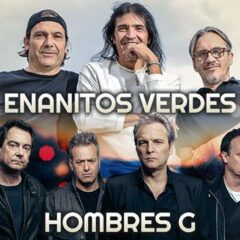 Enanitos Verdes y Hombres G in Los Angeles June 12, 2016